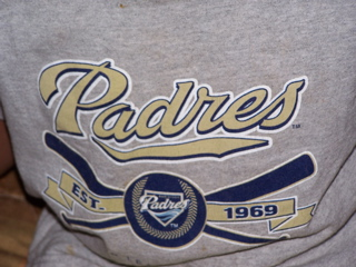 Padres t-shirt